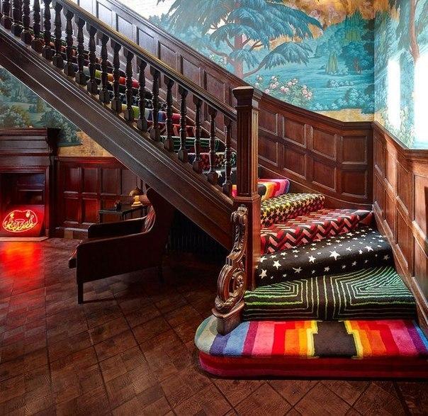 Волшебная мягкая лестница