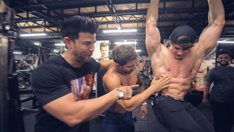 Jeff Seid Teaching How To Pose Tips