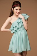 style-attack-women-chaming-dress-pleated-lotus-leaf-level-chiffon-shoulder-dress-blue-112129-2