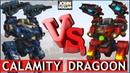 War Robots Bulwark на Calamity VS Dragoon