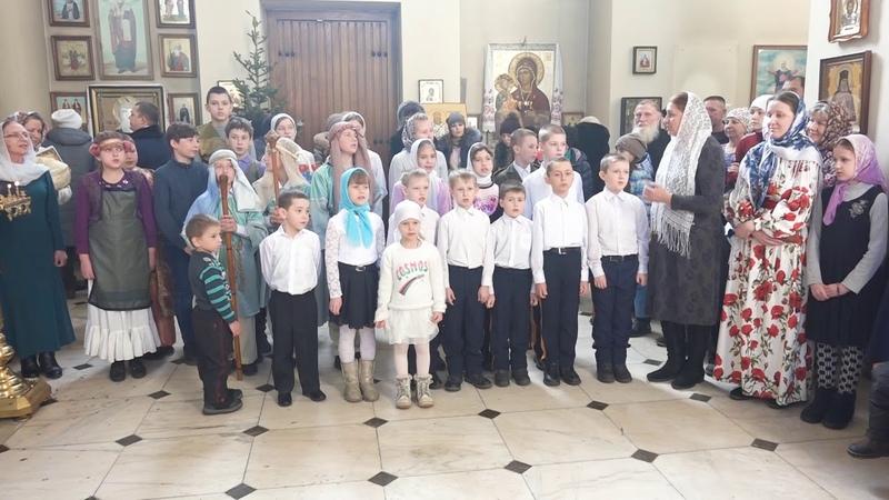 Выступление Воскресной школы кафедрального Благовещенского собора г.Арсеньев