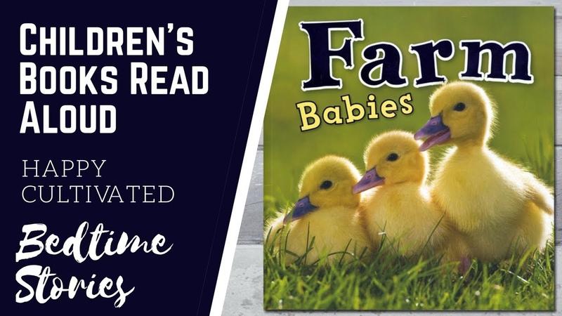 FARM ANIMALS Book for Kids | Farm Animals for Preschoolers | Childrens Books Read Aloud