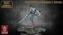 Raziel Soul Reaver KLUKVA MINIATURES 32mm