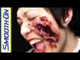 Broken Glass in a Facial Wound | Special FX Makeup Minute