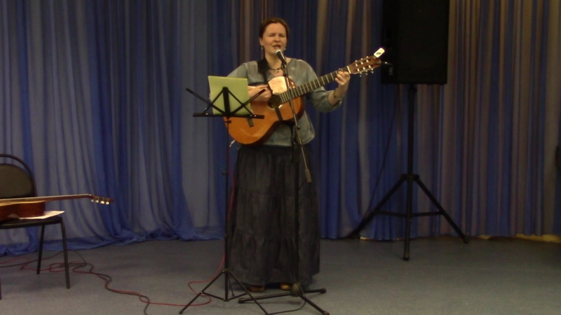 Екатерина Мирвис-Варкалова «Кружатся птицы…» (стихи и муз. Е. Мирвис-Варкаловой)