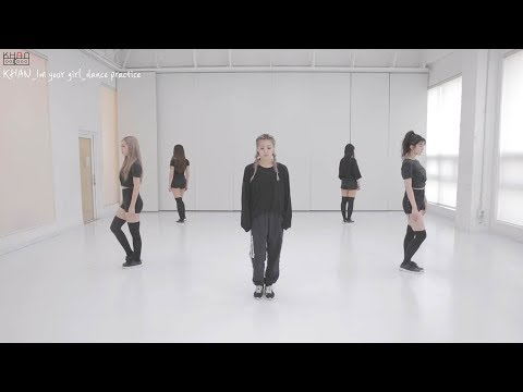 KHAN I'm Your Girl ? dance practice