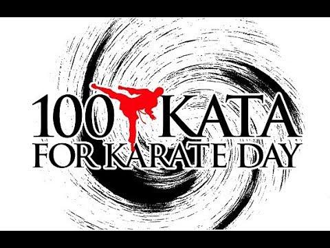 100 Kata for Karate Day 2018 Russia (100 ката за раз в СПб.)