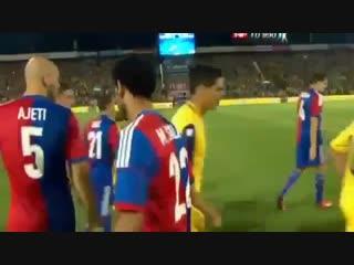 Mohamed salah refuses to shake hand to israeli players