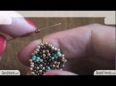 426 Peyote Stitch Tutorial: how to make bead earrings - circular peyote stitch | Beading Tutorial
