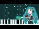 Ievan Polkka - Hatsune Miku (Piano Tutorial / Synthesia)