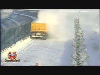 Кежемский район, в ДТП погиб водитель автопогрузчика