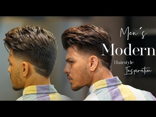 Men´s Modern haircut ★ Taper fade ★ NEW 2018