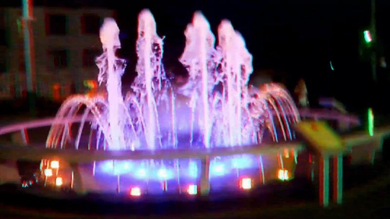 Привокзальный фонтан в 3D