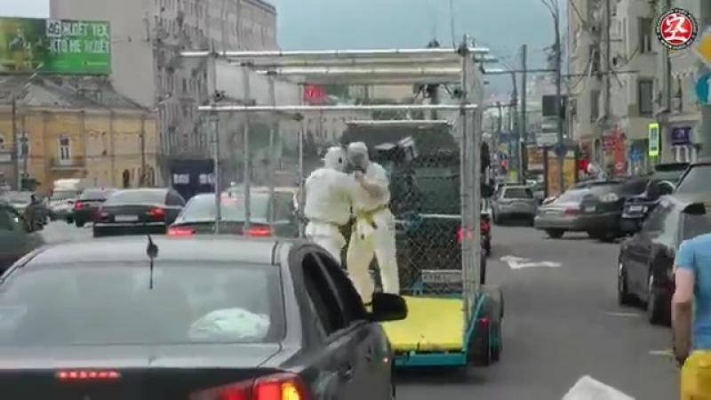 Вырвались из клетки.Daido Juku karate DO (с треком от рамштайн)