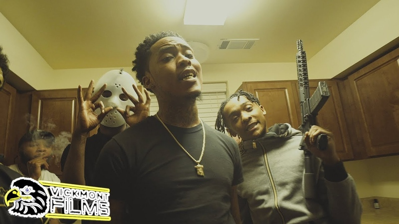 OrackPac f/ Jt Murda Mook - Pull Up Gang ( Official Music Video ) Shot By @VickMont
