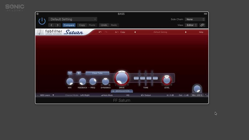 Sonic Academy - How To Use FabFilter Saturn with Rory Webb
