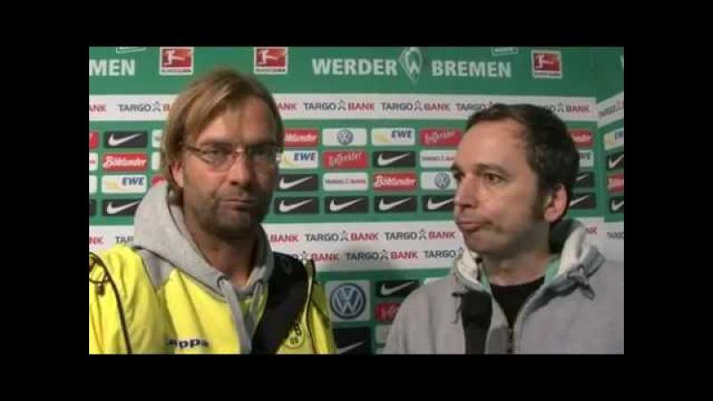 Arnd Zeigler im Interview mit Jürgen Klopp