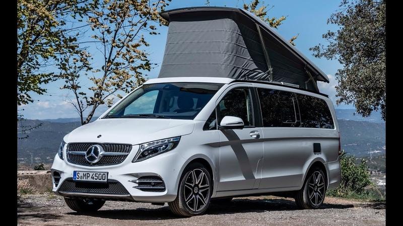 2020 Mercedes V-Class Marco Polo 300 d – A Luxurious Camper Van