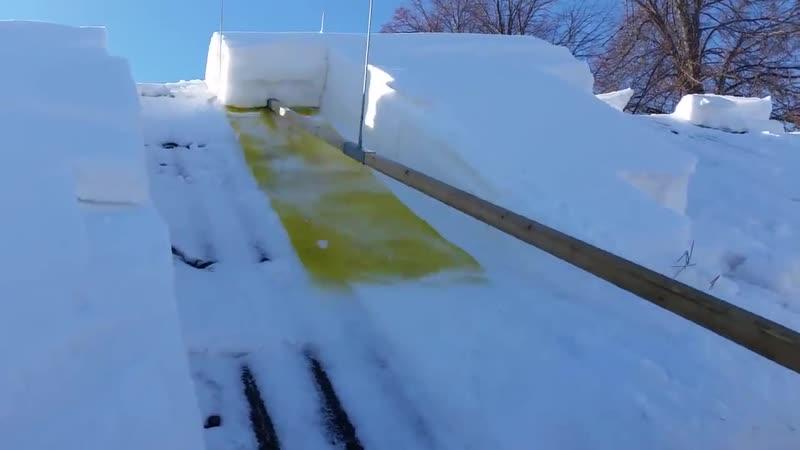 Очистка крыши от снега - Проект « Дача »