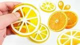 How To Make Orange or Lemon Gummy Jello Slices MonsterKids