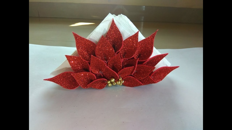 Napkin Organizer for Dining Table DIY Tissue Paper Organizer Foam Sheet Organizer for Napkin