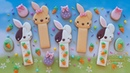 How to make cute EASTER BUNNY COOKIE STICKS ~ 2 simple designs!