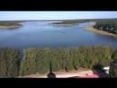 Вид с монастыря на озера Селигер