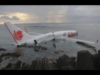 Авиакатастрофа на Бали - самолет рухнул в море.