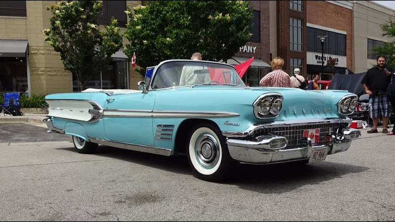 1958 Pontiac Parisienne Convertible in Tropicana Turquoise on My Car Story with Lou Costabile