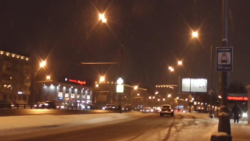 пешая прогулка по варшавке варшавское шоссе в москве зимой днём дорога с упц до метро варшавская