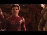 avengers infinity war x spiderman