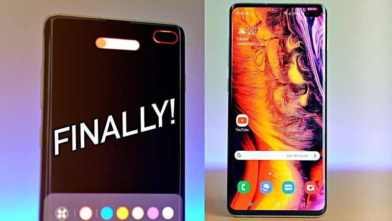 Samsung Galaxy S10 OFFICIAL LED RING Notification Good Lock 2019 Features