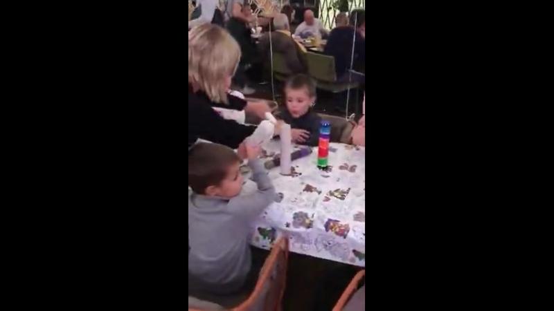 мастер-класс для детей в ресторане Кукумбер