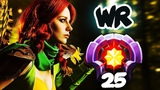 FIRST LEVEL 25 WINDRANGER Divine Rank - HOW TO RAMPAGE in 3sec CRAZY Gameplay Dota 2