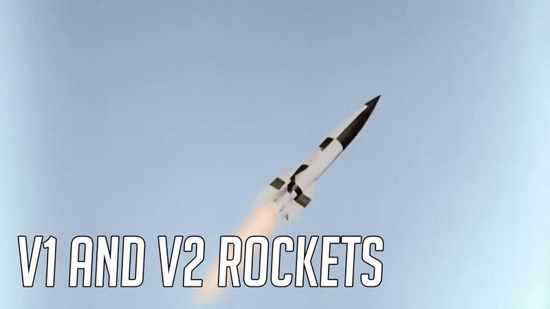 German V1 V2 Rockets in Action [HD Colour]