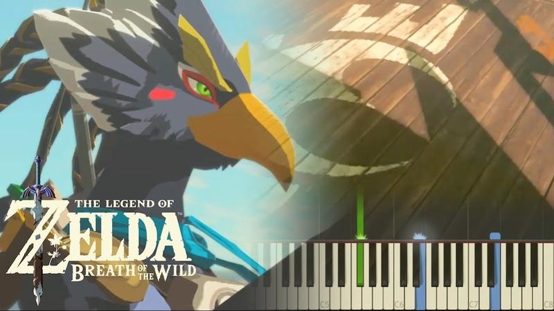 The Legend of Zelda Breath of the Wild - Rito Village - Piano (Synthesia)