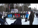 ВПК Крылатая Гвардия с показательными выступлениями на кубке по лыжным гонкам имени воина-интернационалиста Вячеслава Зимина 2