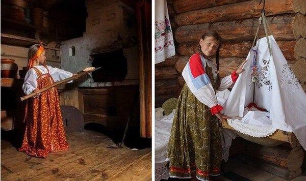 Что умела 10-летняя девочка 100 лет назад на Руси