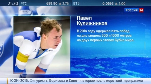 Новости на Россия 24 • Коньки. Кулижников с золотом чемпионата мира, Юсков - с серебром