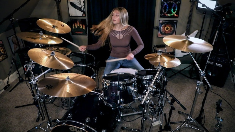 Nonpoint Chaos and Earthquakes Drum Cover~Brooke C~