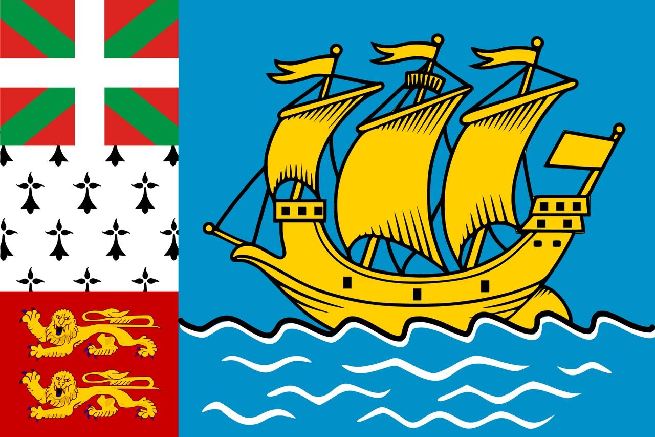Флаг Сент-Пьер и Микелон