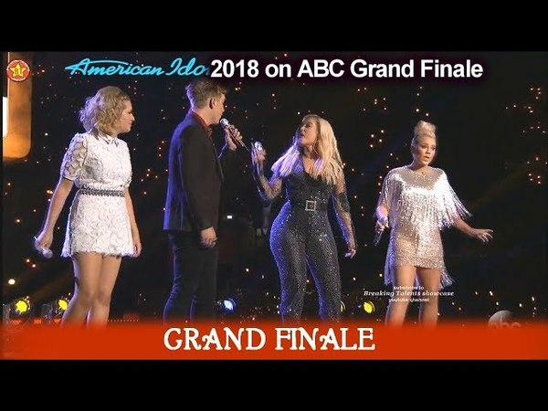 "Bebe Rexha ""Meant To Be"" with Maddie Poppe Gabby Barrett Caleb Lee Hutchinson American Idol Finale"
