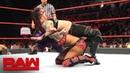 Sasha Banks vs Ruby Riott Raw Oct 22 2018