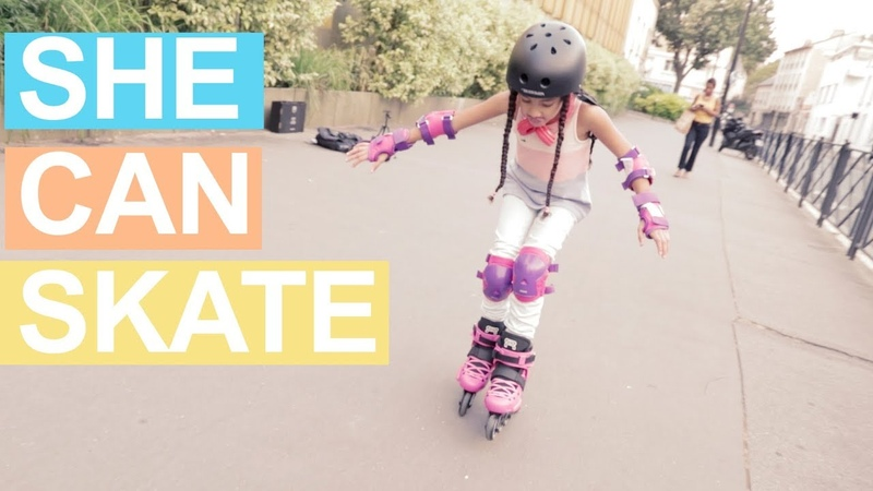 INLINE SKATING WITH MY SISTER - PART 1