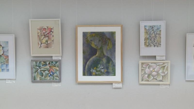 Татьяна Чекалина привезла в Выборг 30 живописных работ