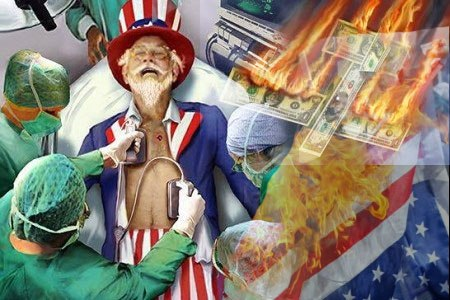 USA - онлайн счётчик внешнего долга США