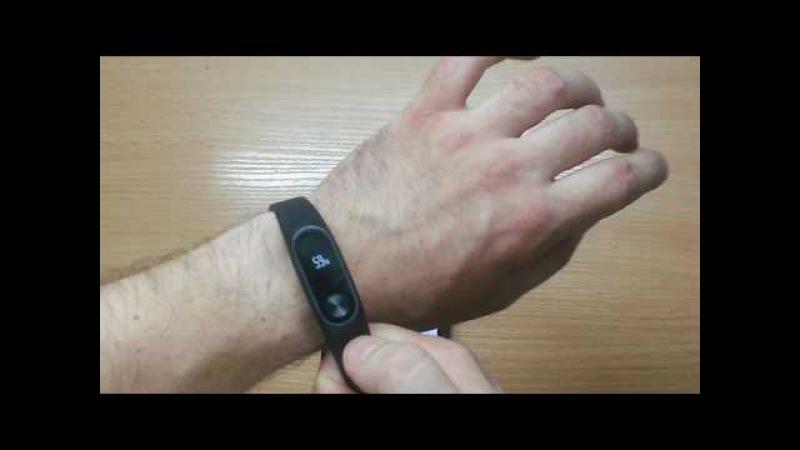 Честный обзор фитнес треккер Xiaomi Mi Band 2 после месяца использования Подключение