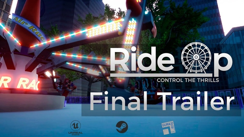 RideOp Thrill Ride Simulator Trailer