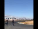 Вихревой след самолета