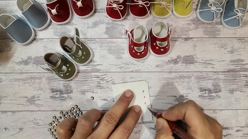 Обзор страз на ножке для украшения обуви и сумочек для кукол